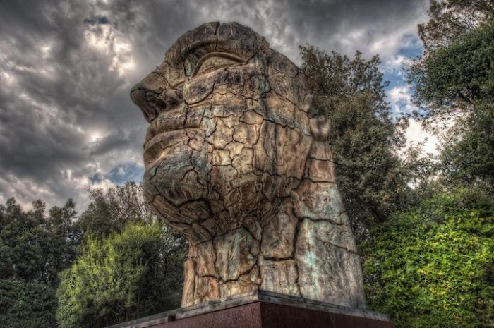 Tindaro Screpolato. Бронзовая статуя от Игоря Миторая
