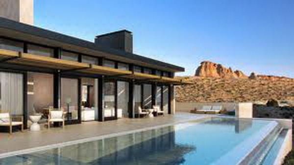 Отель Амангири в пустыне Юта