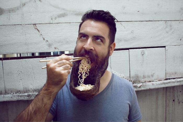 Креативная борода Исаии Уэбба (Isaiah Webb)