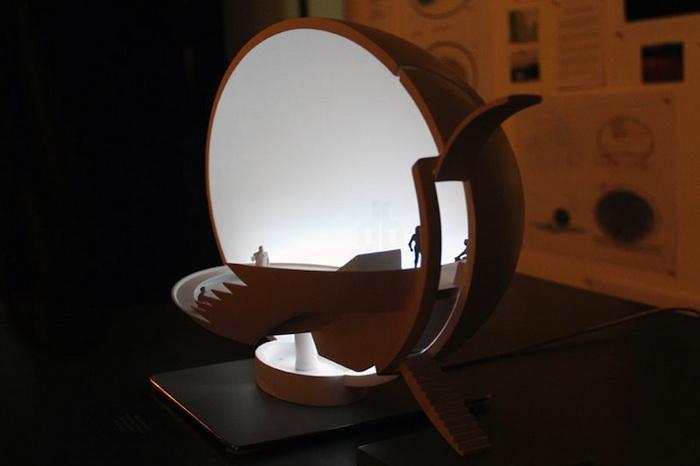 Светильника в форме яйца от дизайнера Инго Маурера