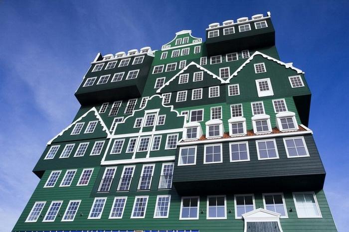 Необычный отель в Заандаме