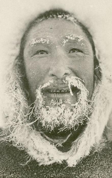 Портрет мужчины-эскимоса