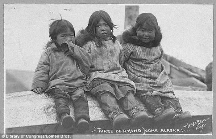 Дети-инуиты совершенно не боятся холода