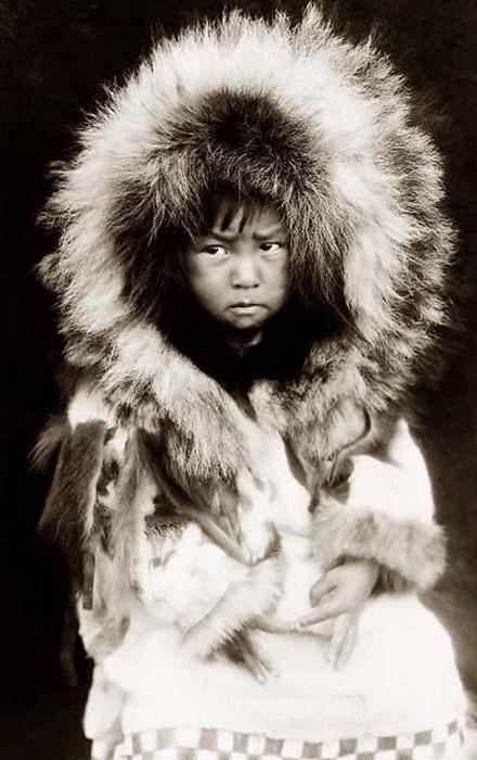 Инуитский ребенок, 1929 г.