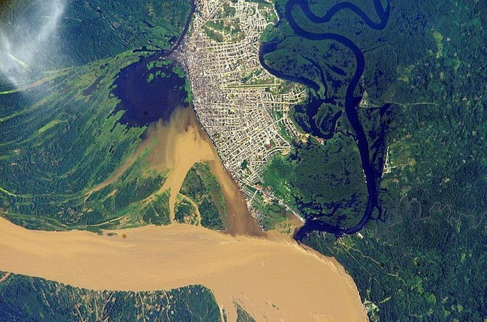 Аэрофотография НАСА