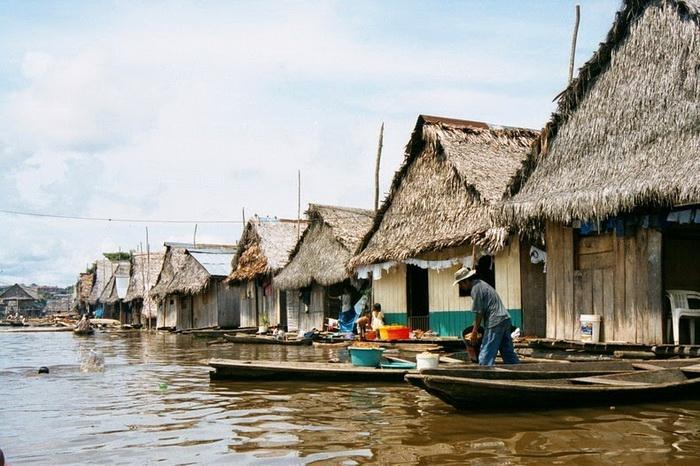 Белен - район бедняков в Икитосе