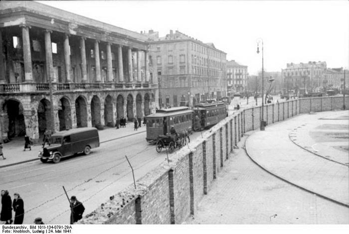 Варшавское гетто, 1941 год, май