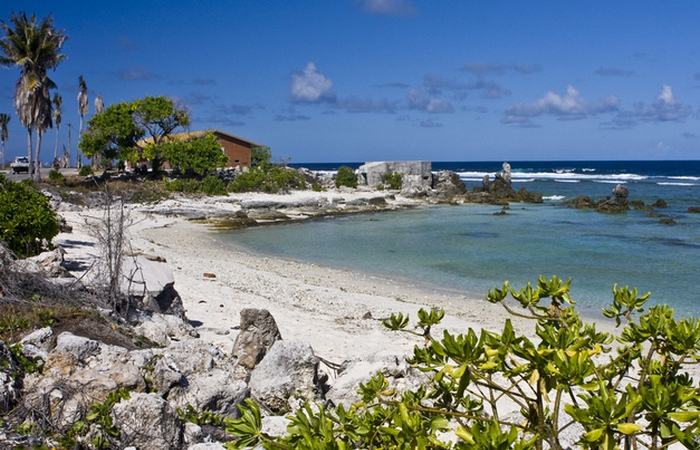 Остров Науру, жители которого разбогатели на птичьем помете.