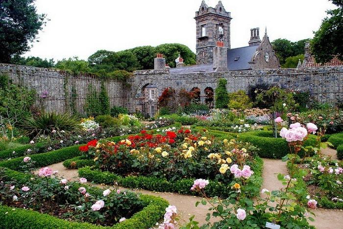 Сад в замке Сеньора