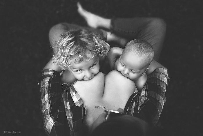 Кормящие мамы: фотоцикл от Иветти Ивенс (Ivette Ivens)