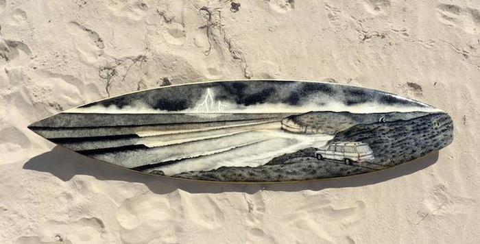 Оригинальные доски для серфинга: творчество Джеррина Доуэра (Jarryn Dower)