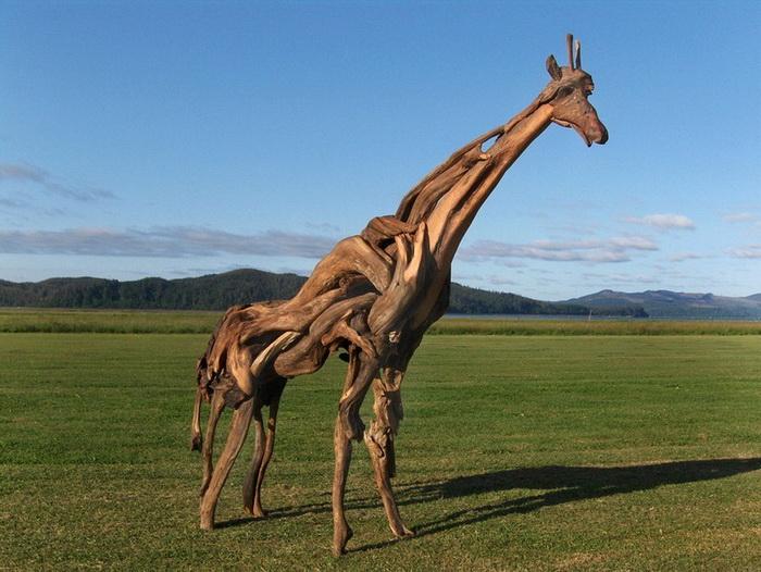 Скульптуры животных от Jeffro Uitto