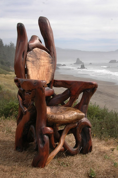 Jeffro Uitto создает прекрасную деревянную мебель