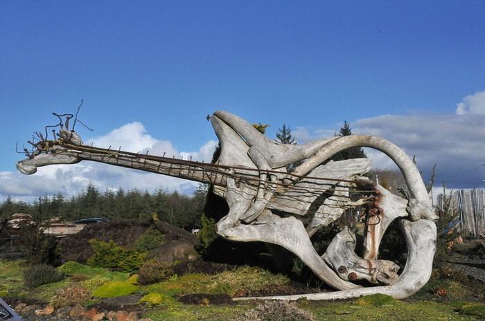 Деревянные скульптуры от Jeffro Uitto