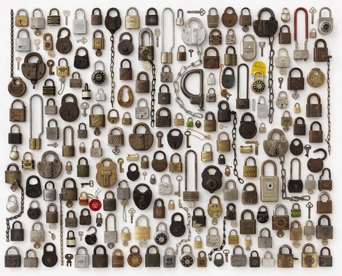 Огромные коллекции однотипных предметов от Джима Голдена (Jim Golden)