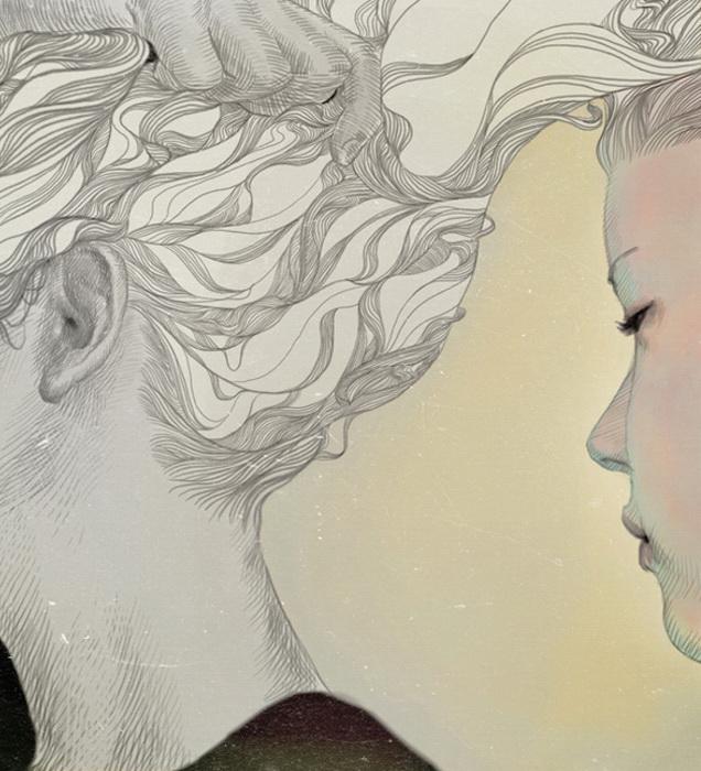 Утонченные портреты от корейского иллюстратора Jo In Hyuk