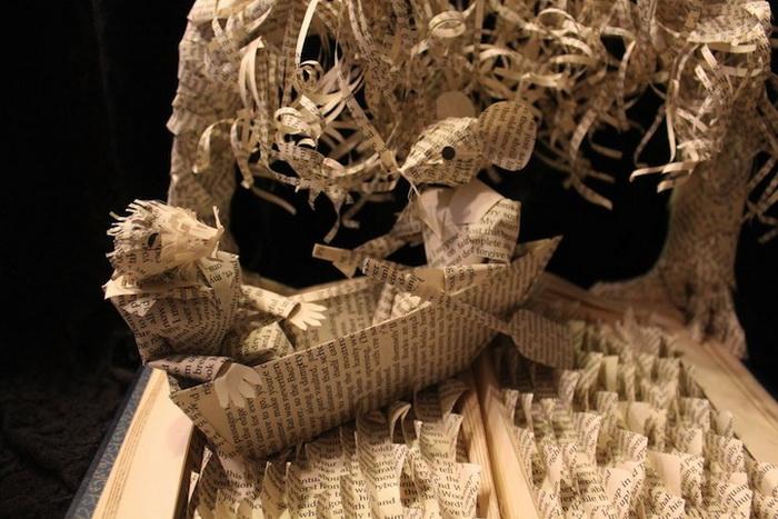 Скульптуры из книг от Джоди Харви-Брауна (Jodi Harvey-Brown)