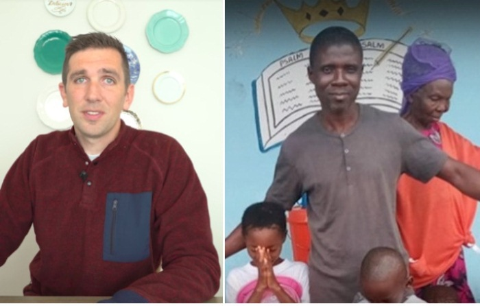 Блогер Дэн и Джоэль из Либерии.