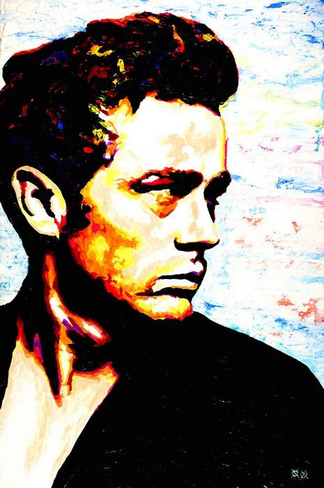 Слепой художник напишет портрет