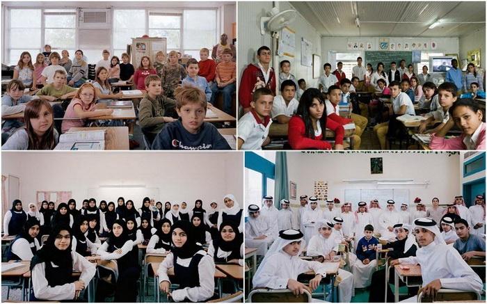 Школьники из разных стран мира на фотографиях Джулиана Жермена