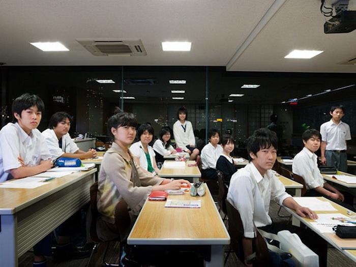 Урок классического японского языка (г. Токио)
