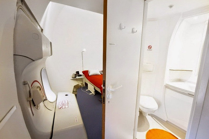 Хостел Jumbo на борту списанного самолета
