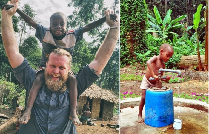 Вода для жителей Конго
