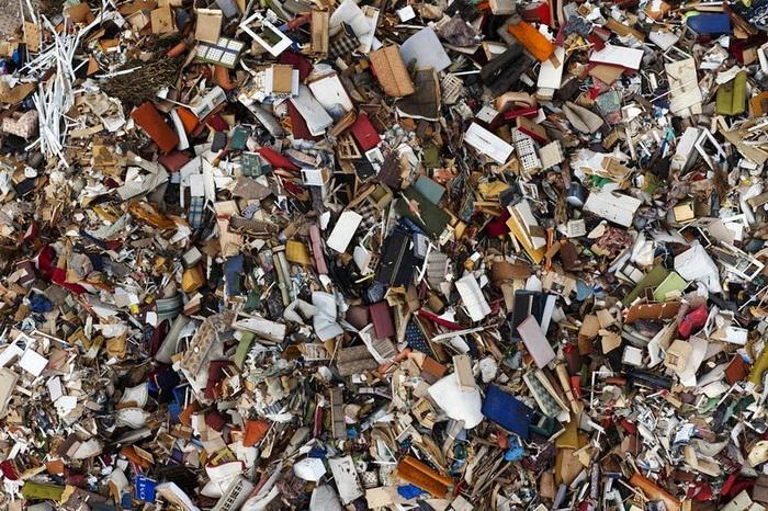 Свалка в Гдыне. Аэрофотография от Каспера Ковальски (Kacper Kowalski)