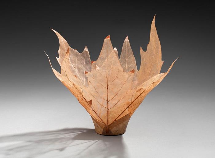Хрупкие вазы от японской художницы