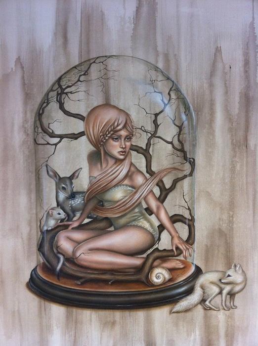 Сюрреалистические картины художницы Kari-Lise