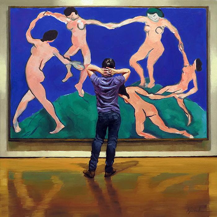 Танец. Автор: Анри Матисс