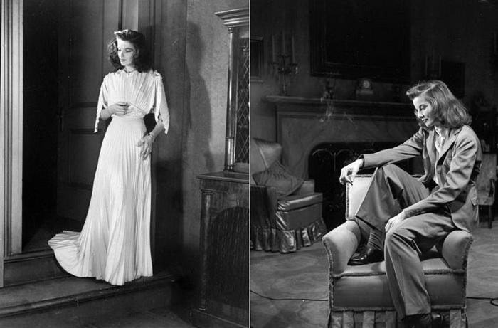 Кэтрин Хепберн - звезда Голливуда, которая ввела моду на брючные костюмы