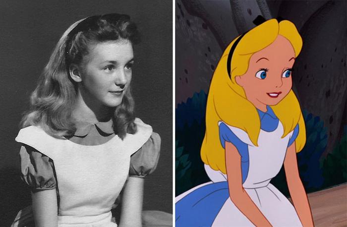 Кэтрин Бомонт (Kathryn Beaumont) - модель, ставшая прототипом Алисы в стране чудес