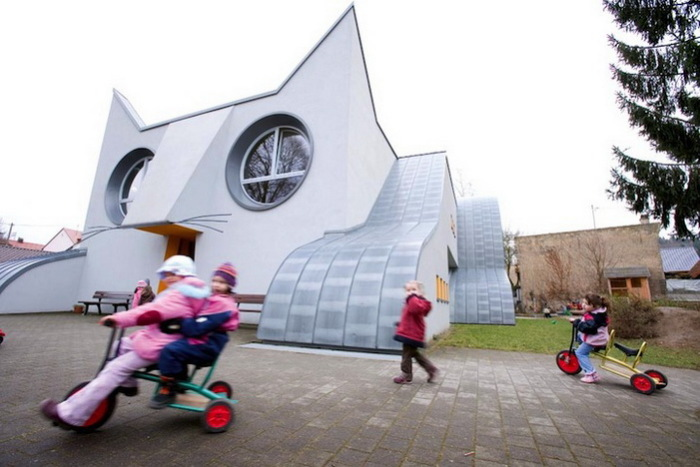 Kindergarten Die Katze - самый необычный детский сад