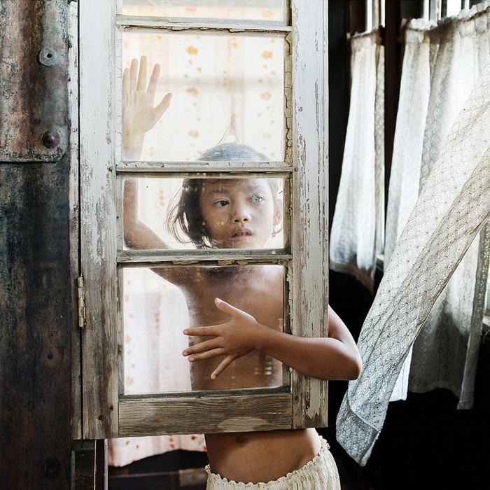 Портреты девочек кхаси