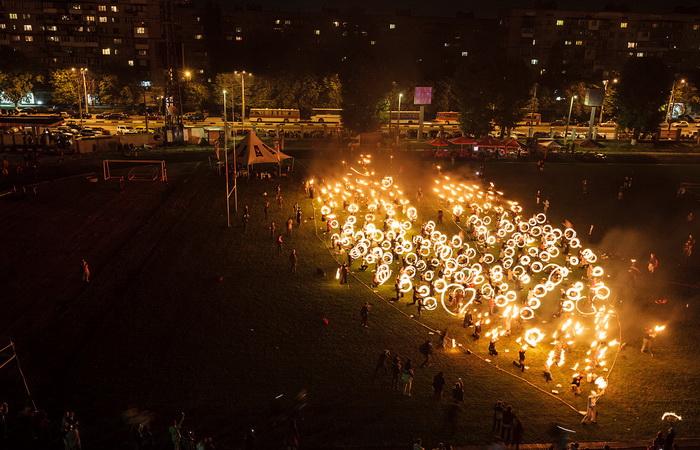 На Kiev Fire Festival 2012 был установлен рекорд Гиннеса