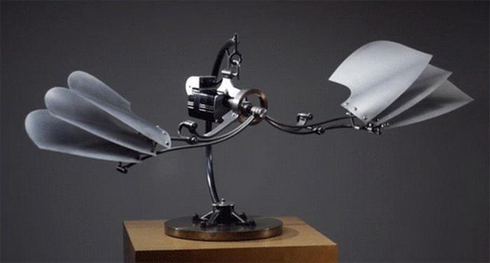 Кинетическая скульптура Боба Поттса