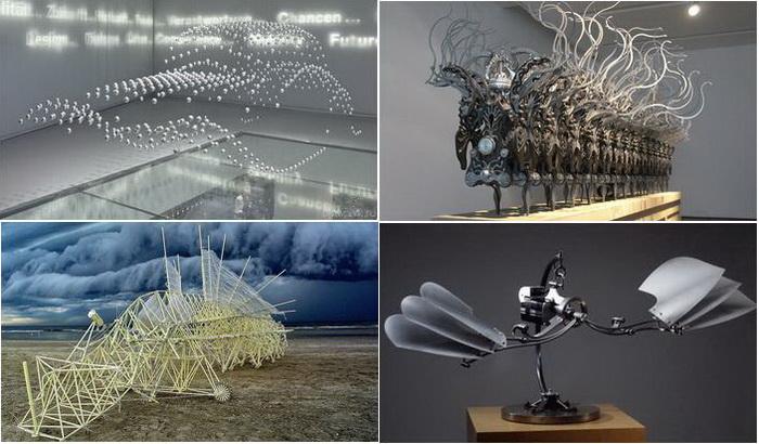 Обзор лучших кинетических скульптур