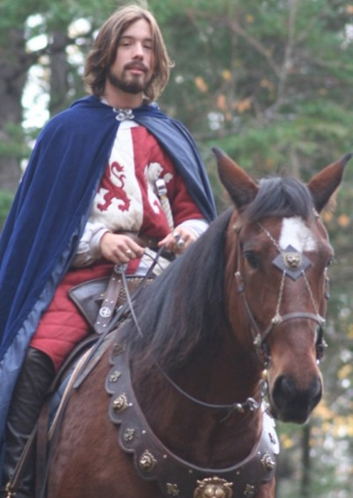 Vincent Gabriel Kirouac - рыцарь из Канады