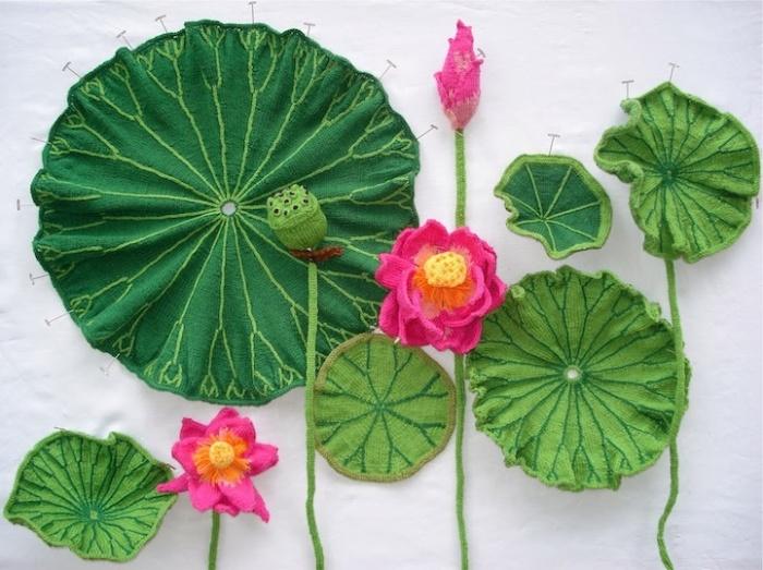 Вязаные цветы от Татьяны Янишевской