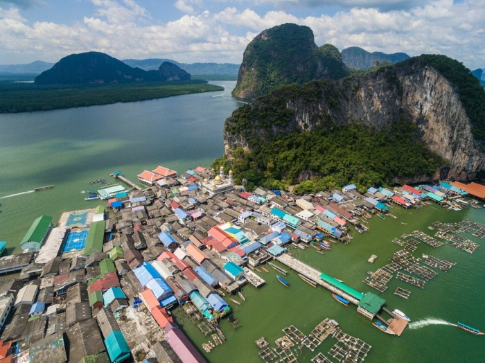 Необычный остров в Таиланде.