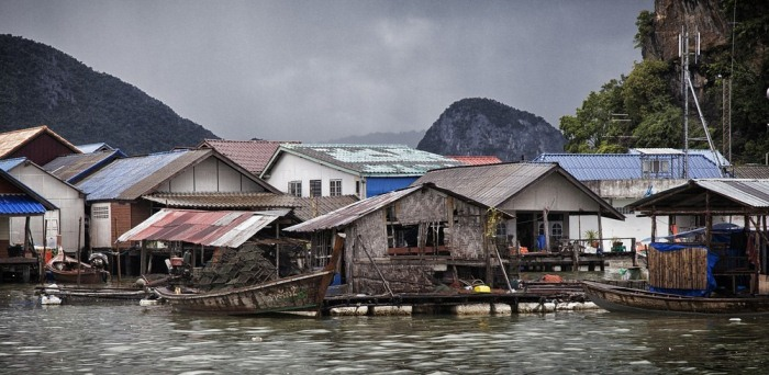 Дома рыбаков.
