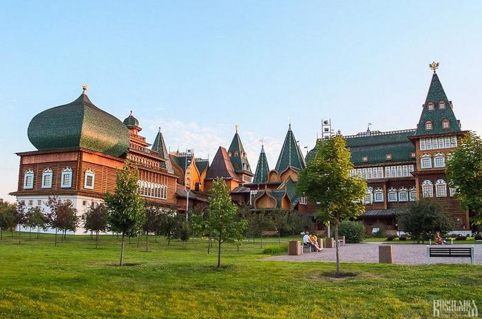 Коломенский дворец - восьмое чудо света