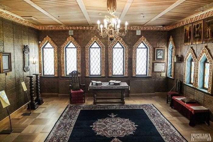 Хоромы Коломенского дворца