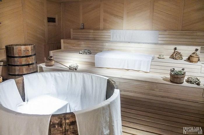 Деревянная русская баня