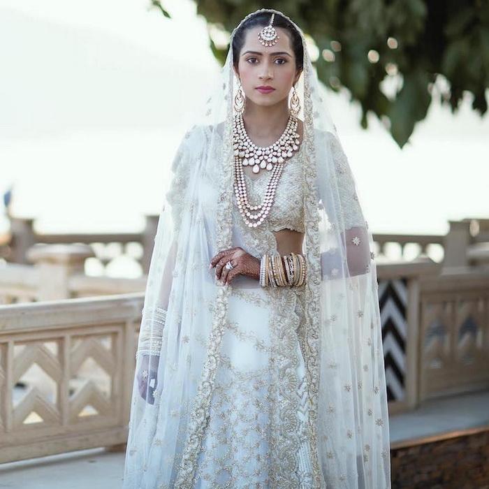 Kresha Bajaj Zaveri в свадебном наряде