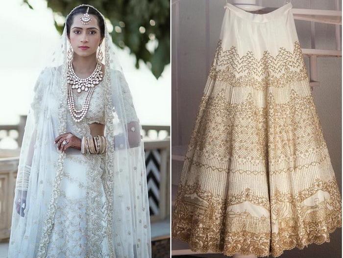 Свадебное платье ручной работы от Kresha Bajaj Zaveri