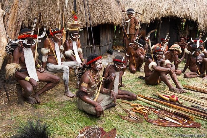 Племенами знакомства с дикими