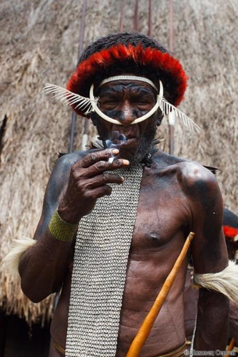 Один из старейшин племени куку-куку