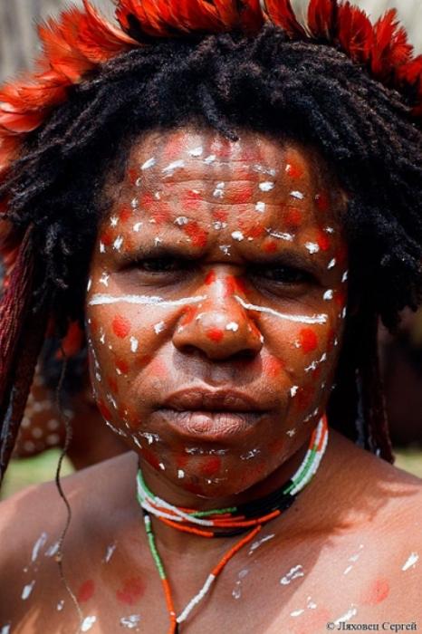 Молодой представитель племени куку-куку